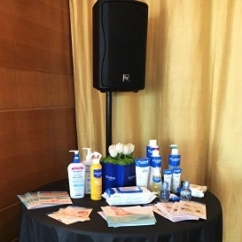 Mustela at Ritz Hotel