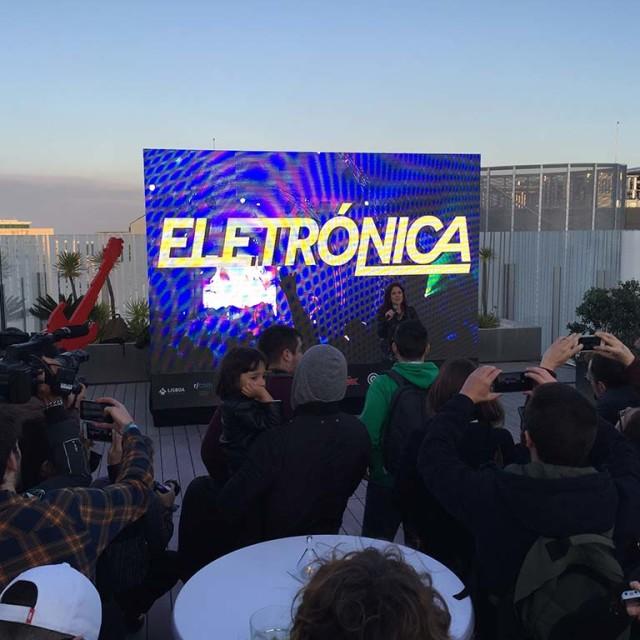 Apresentação Palco Electrónica Rock in Rio Lisboa 2016