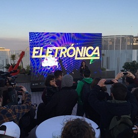 Rock in Rio 2016 Electronic Presentation
