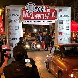 Rallye Monte-Carlo Historique - Partida Lisboa 2017