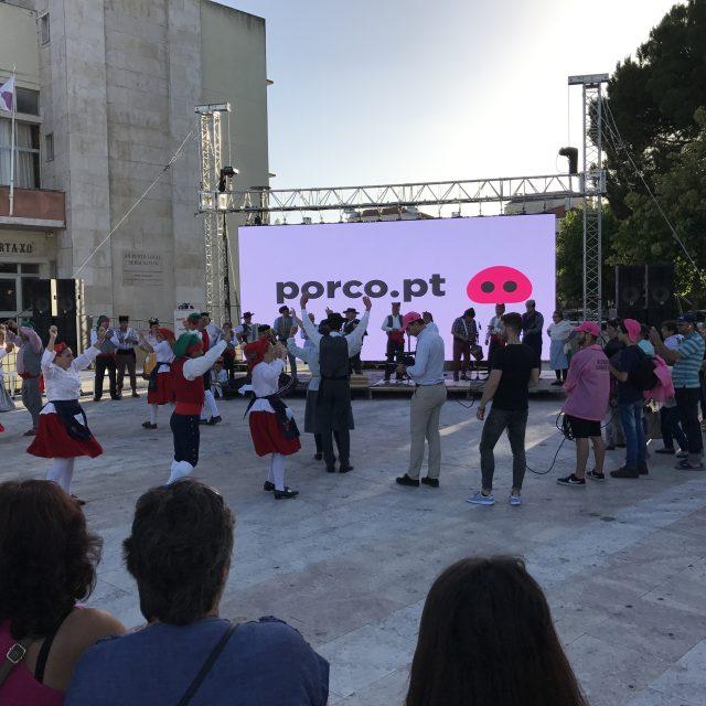 Lançamento: PORCO.pt